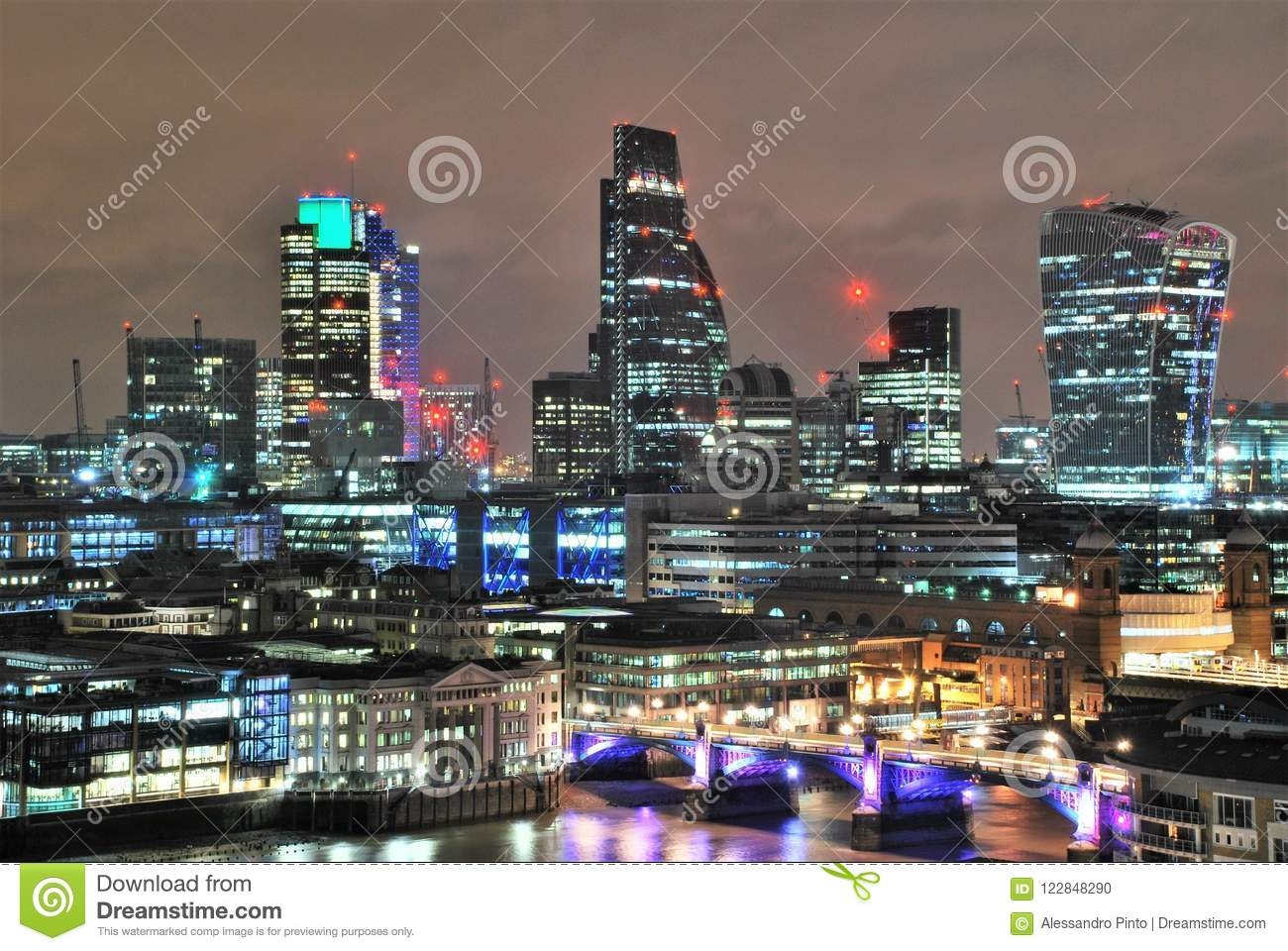 Modern Architecture In Southwark London Stock Photo Image Of