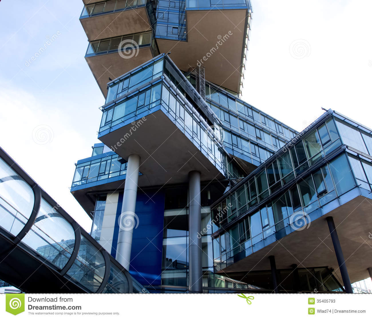 Cool Architecture Office Buildings modern glass architecture of the office building stock image