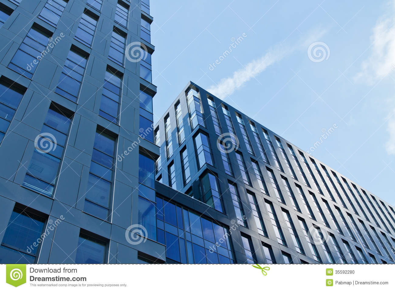 Modern Architecture Office modern architecture office building stock photo - image: 35592280