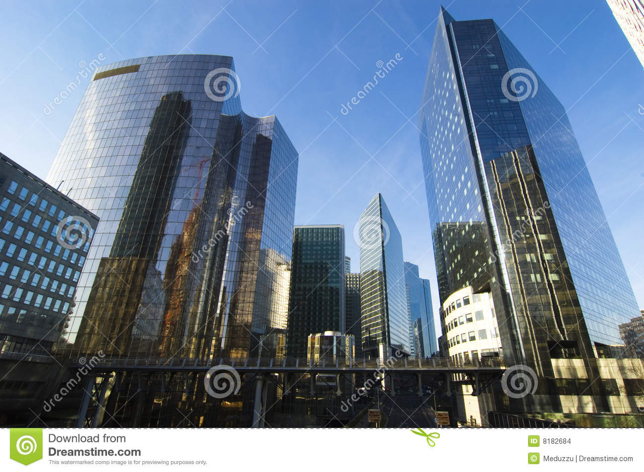 Modern Architecture Paris Modern Architecture In Paris Stock Images  Image 8182684