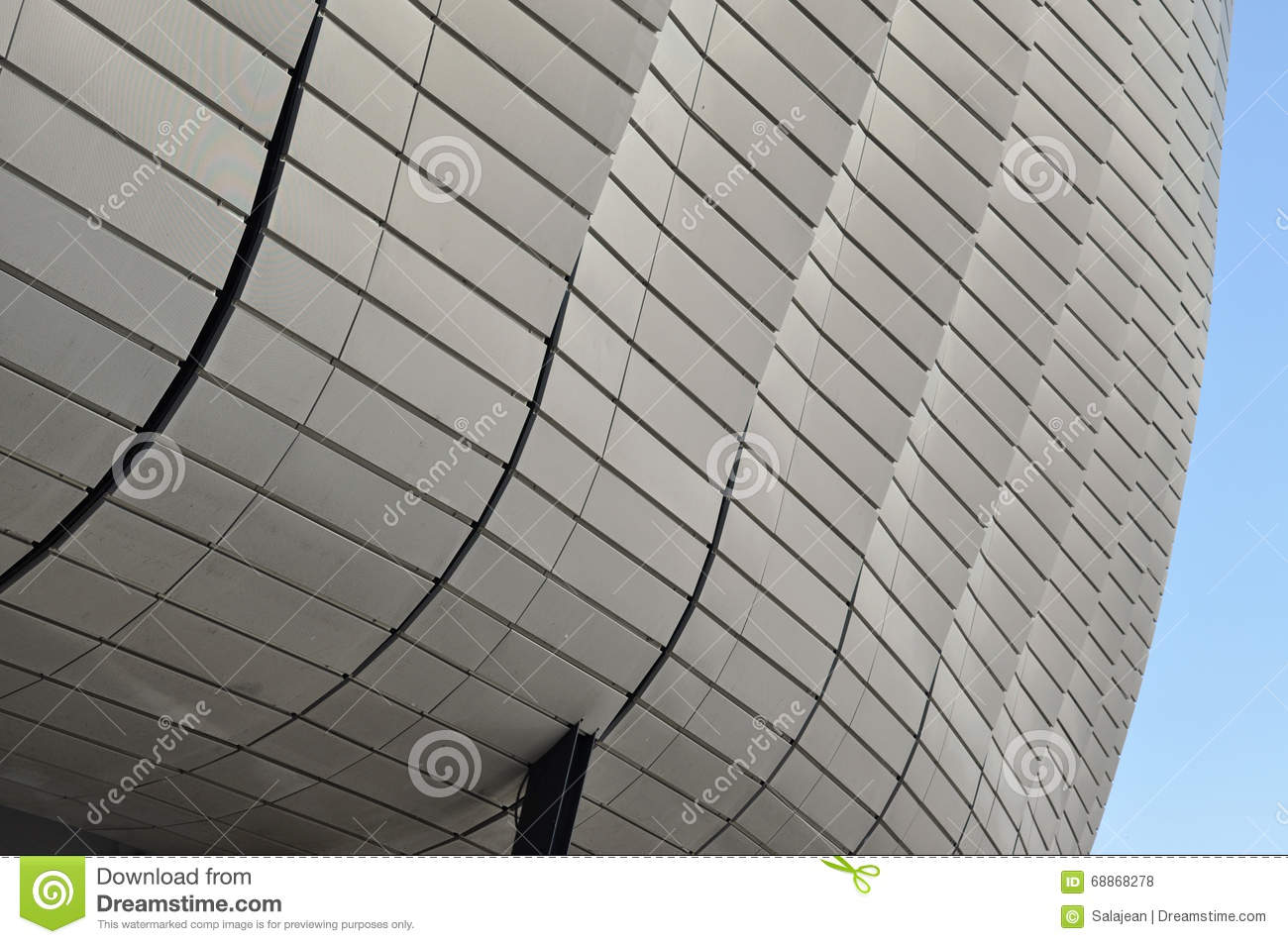 Modern Architecture Pattern modern architecture pattern of a stadium editorial stock photo