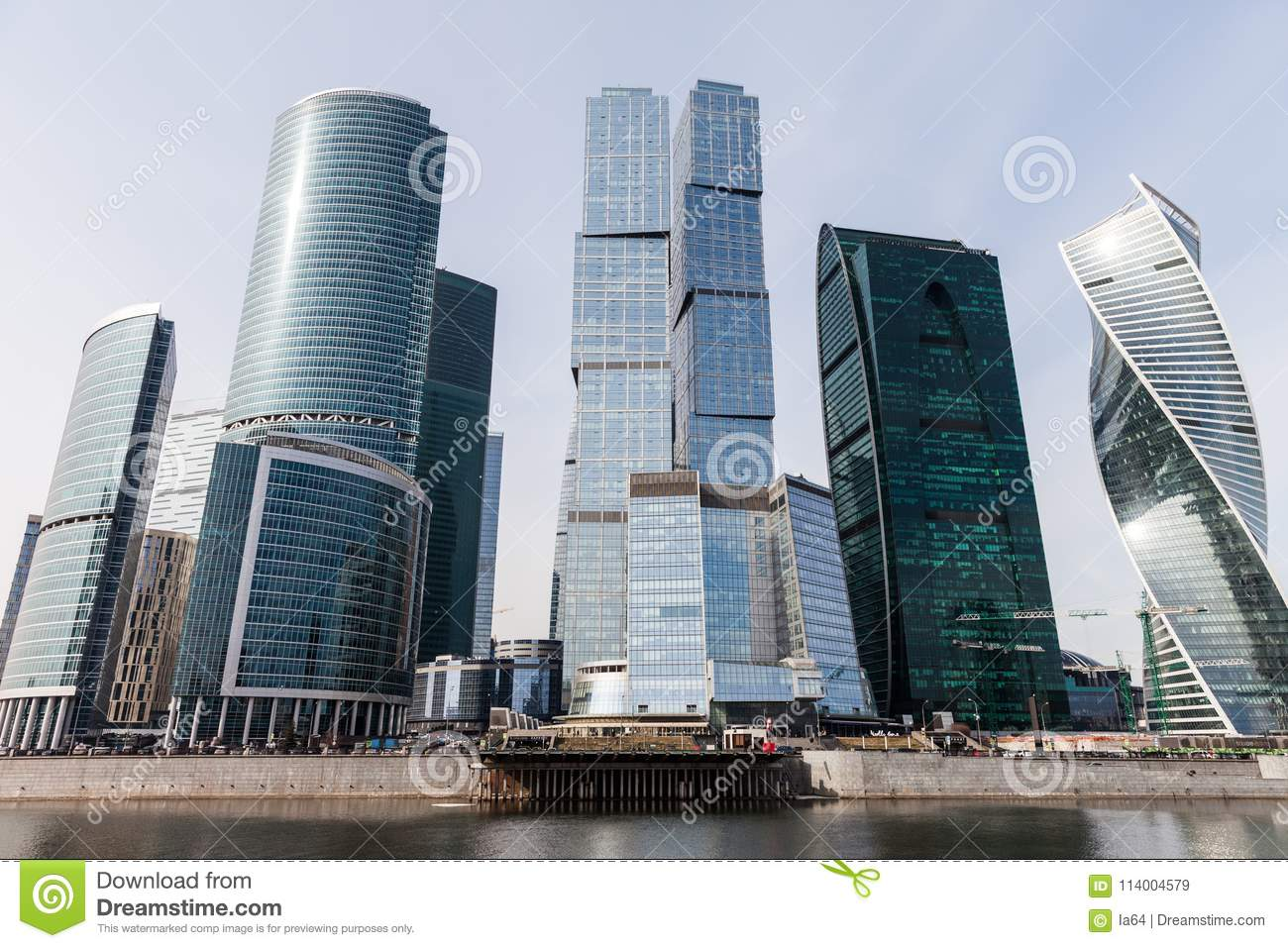 modern architecture skyscrapers. Perfect Skyscrapers Download Modern Architecture Skyscrapers Of International Business Center  At Moscow City Editorial Stock Image  Intended R