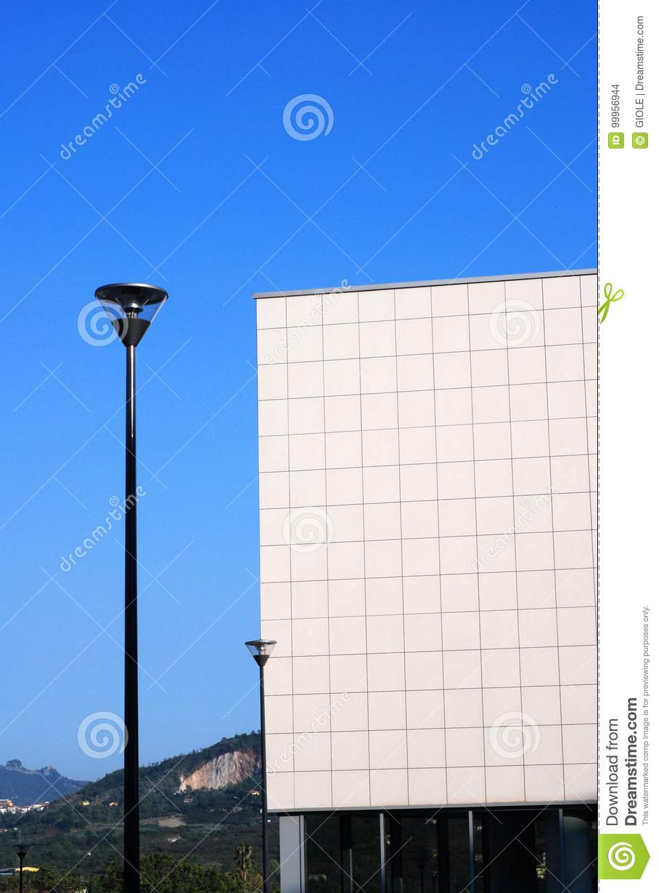 Modern Architecture South Italy Stock Photo Image Of