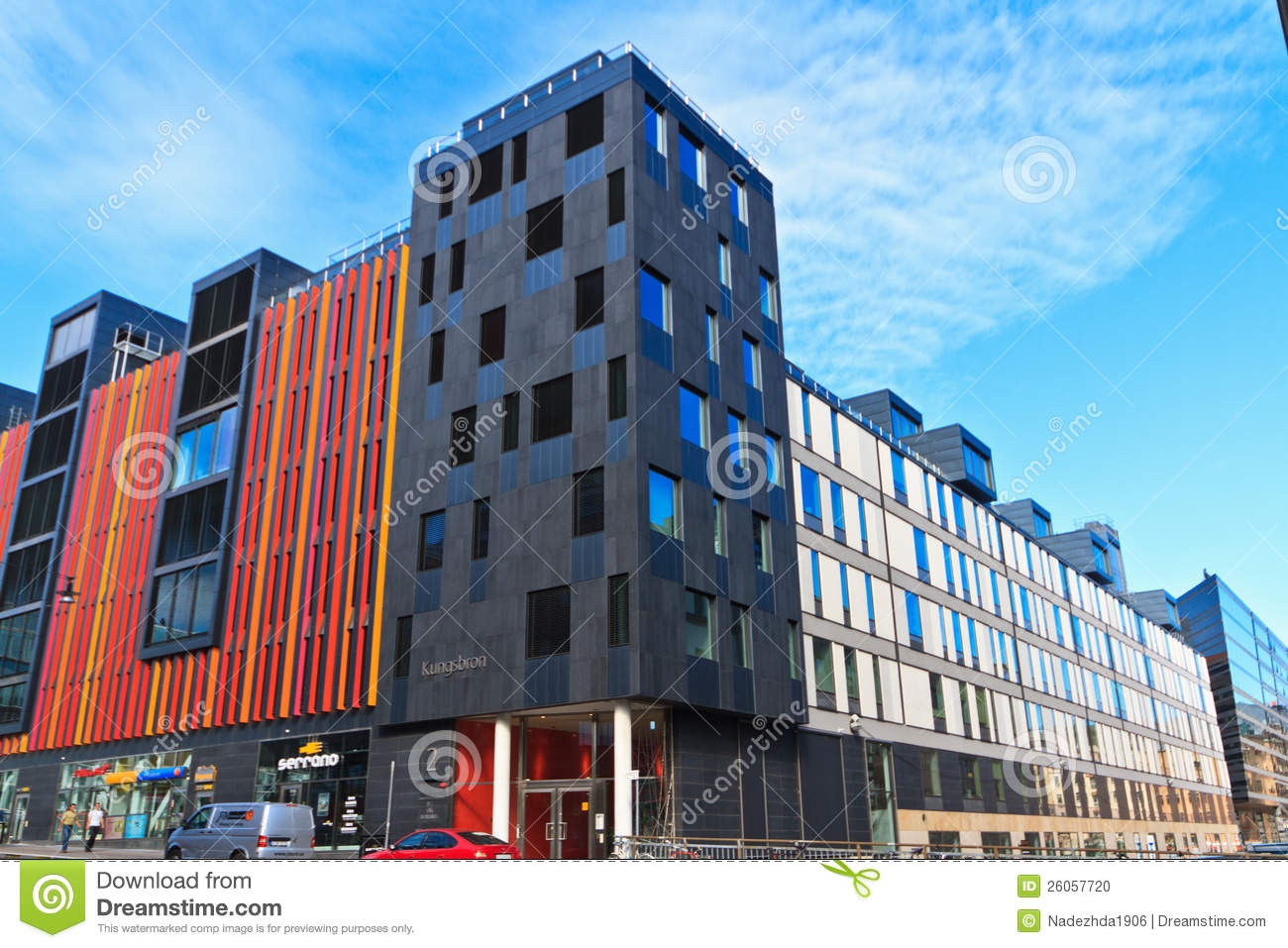 Modern architecture stockholm editorial image image of for Architecture moderne