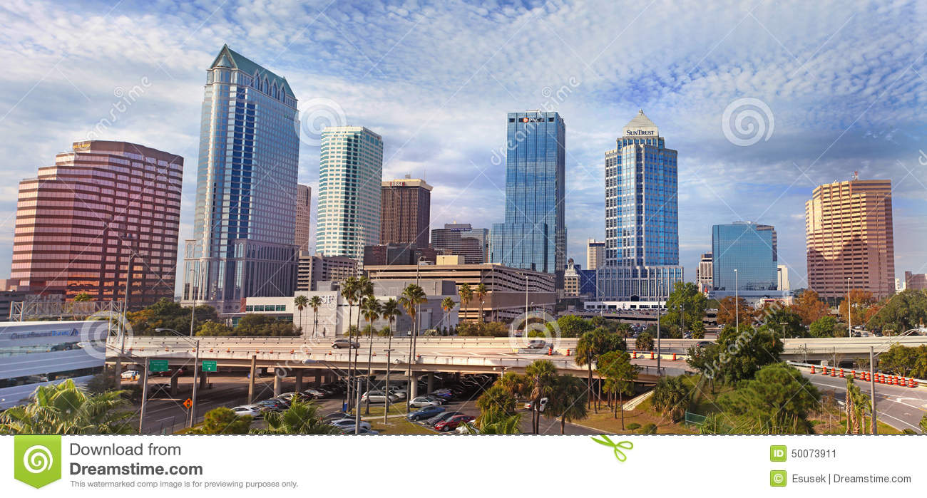 Modern Architecture Tampa modern architecture in of tampa, florida usa editorial photo