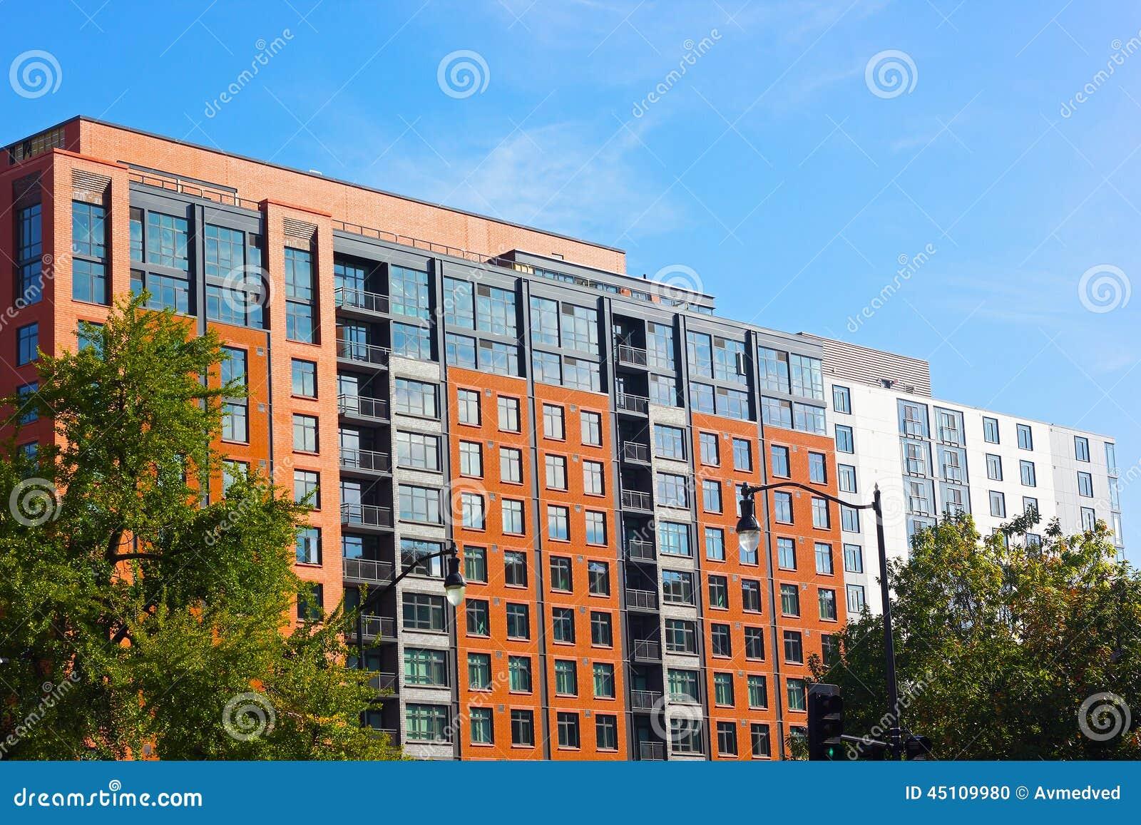 Modern Architecture Of Washington Dc Usa Stock Photo Image