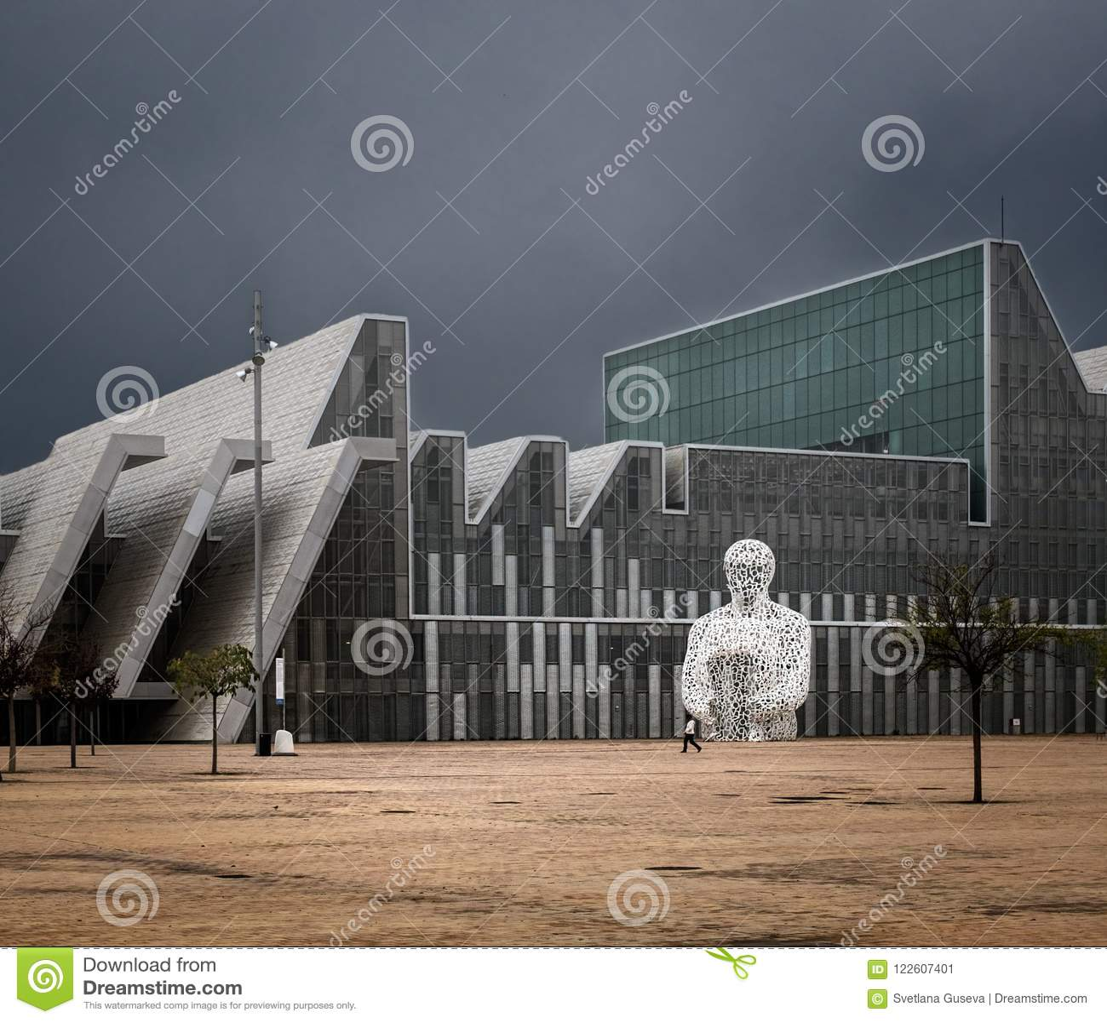 Modern architecture of Zaragoza