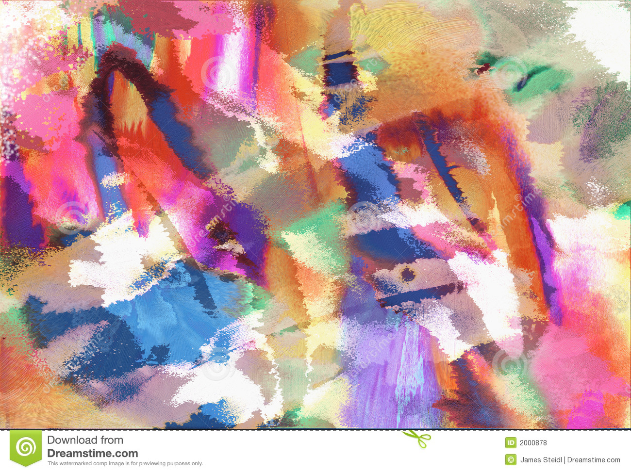 Modern Art Abstract Stock Illustration. Illustration Of