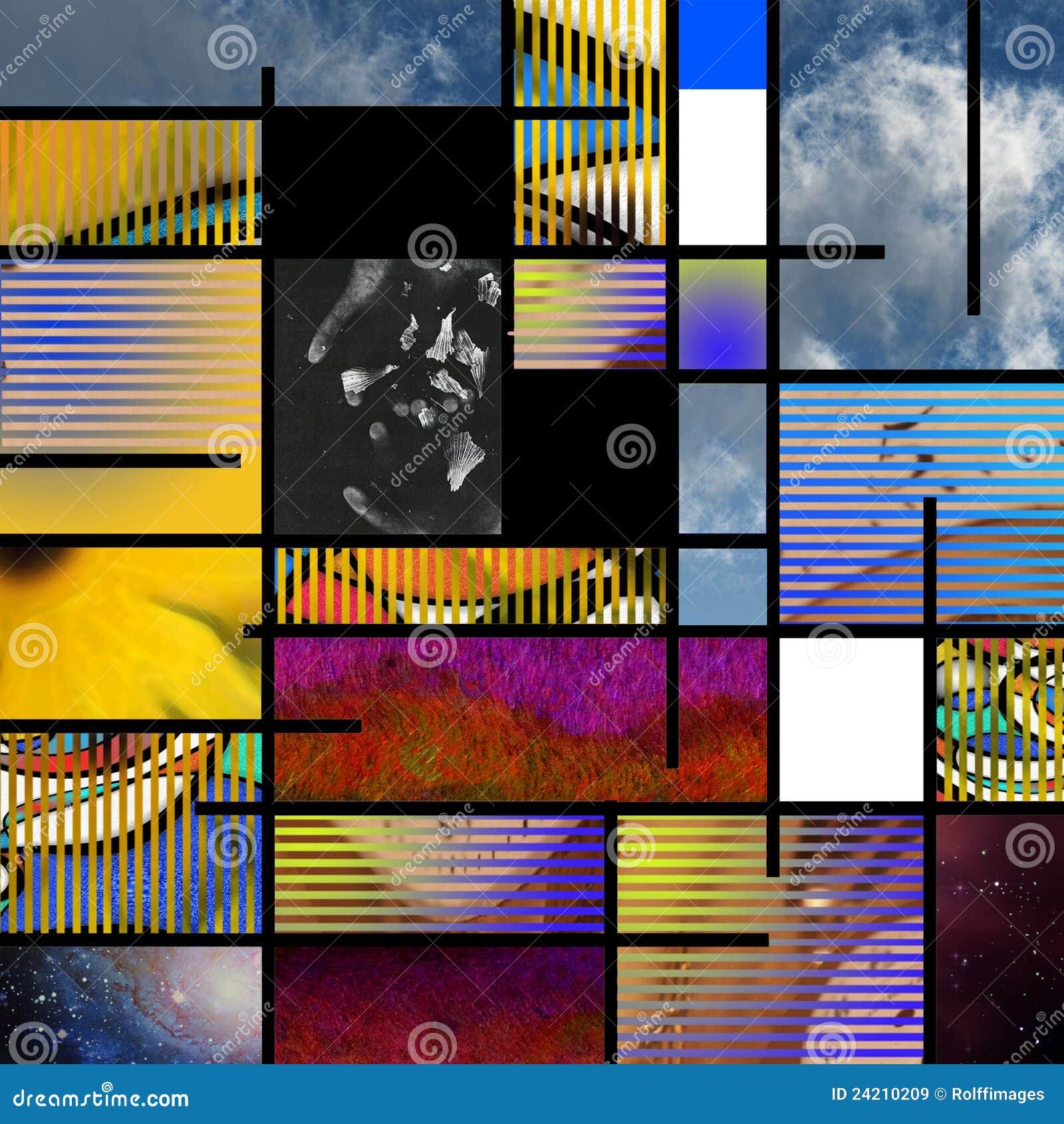 Modern Art based Abstract