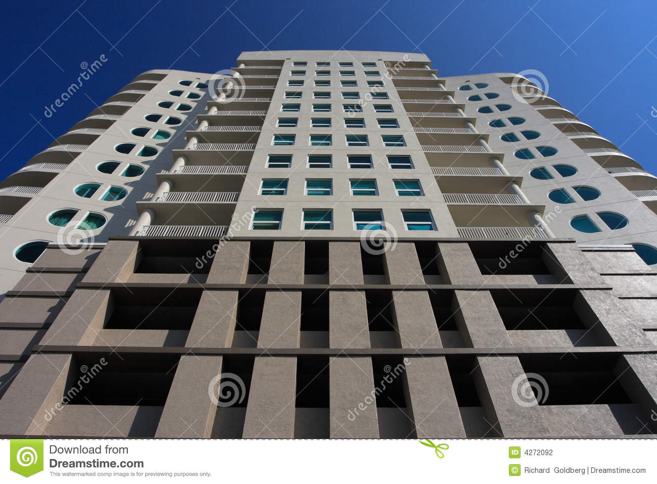 Modern Art Deco Architecture Stock Photography Image