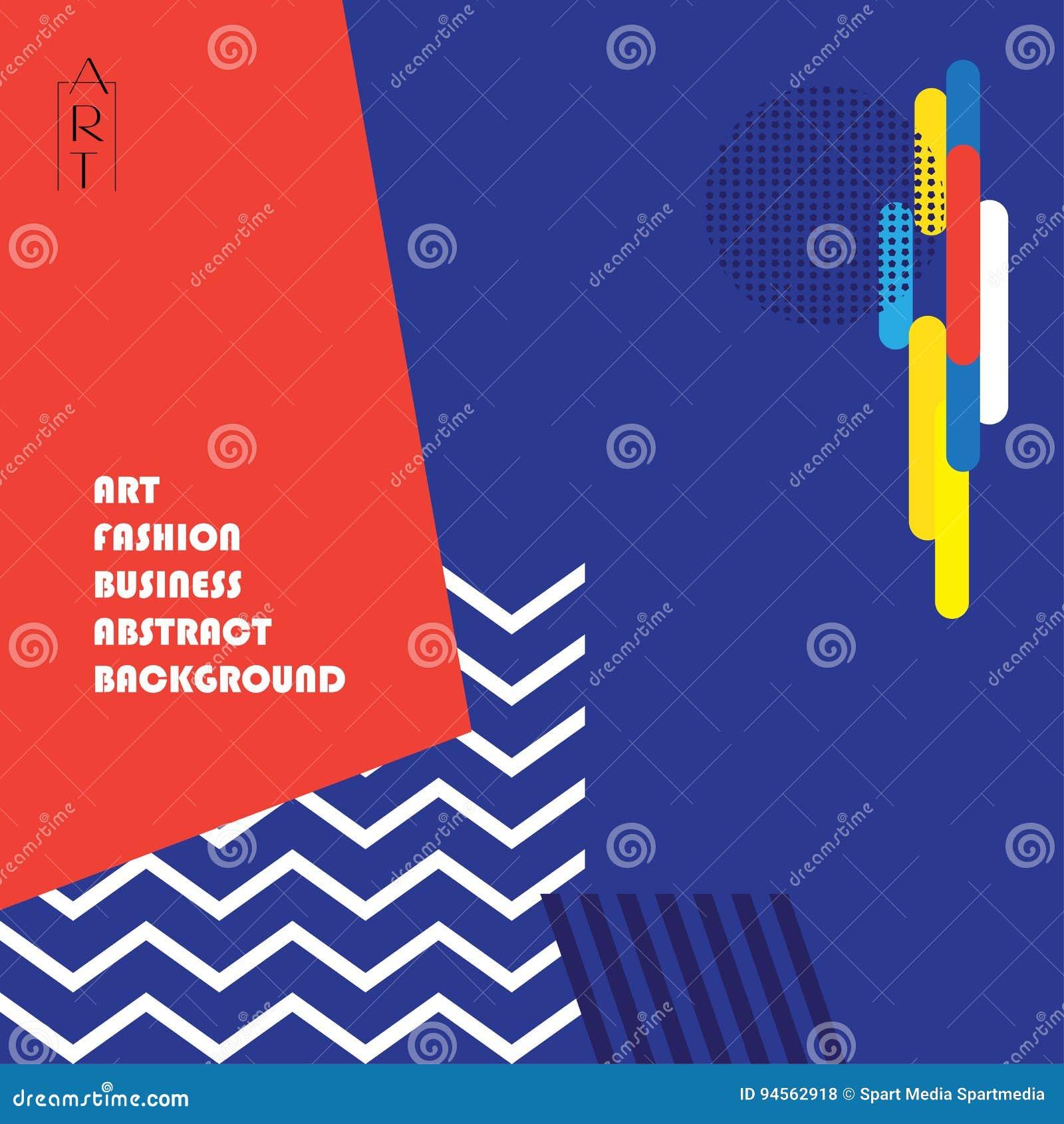 Modern Art Exhibition Poster Stock Vector Illustration Of Design