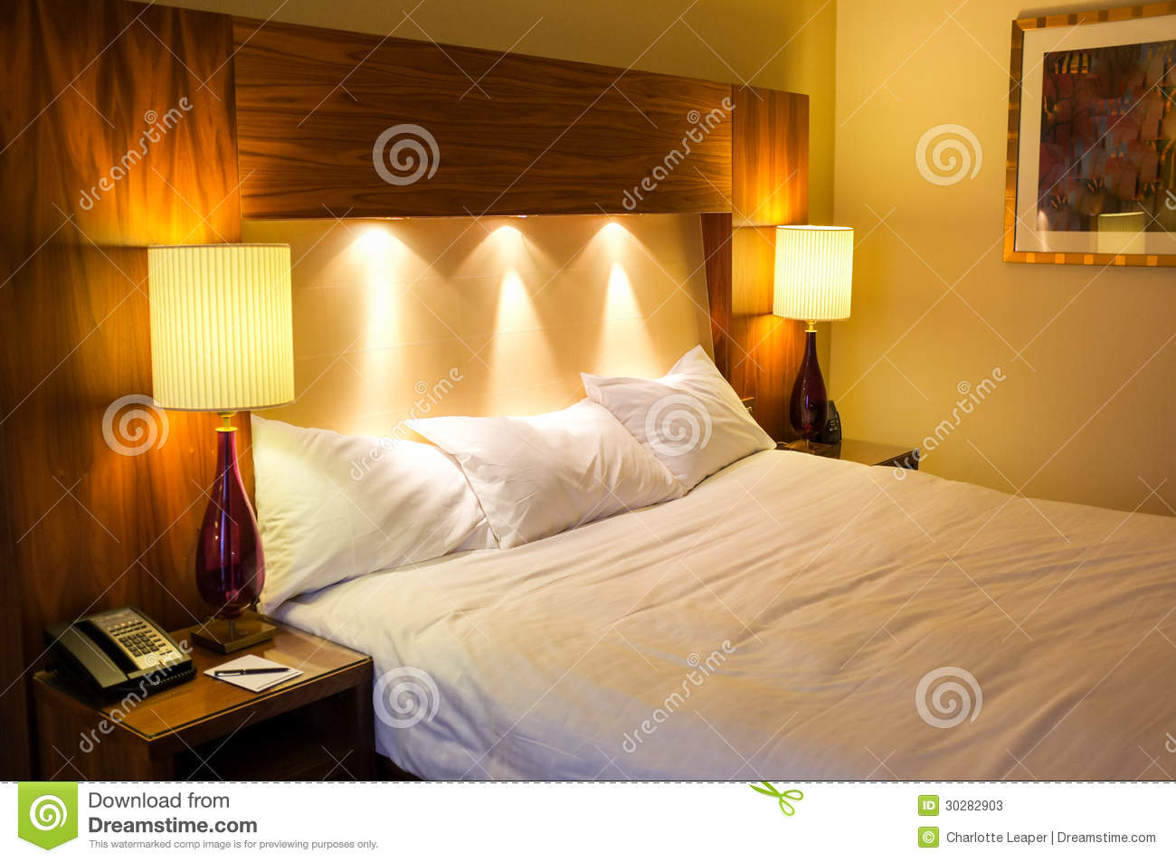 Hotel Bedroom Stock Image Image Of Accomodation Modern