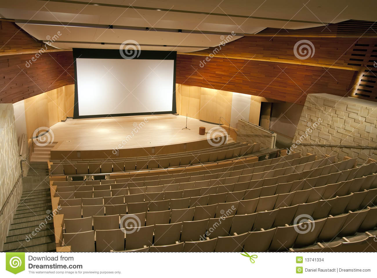 Modern Auditorium Theater Stock Images Image 13741334