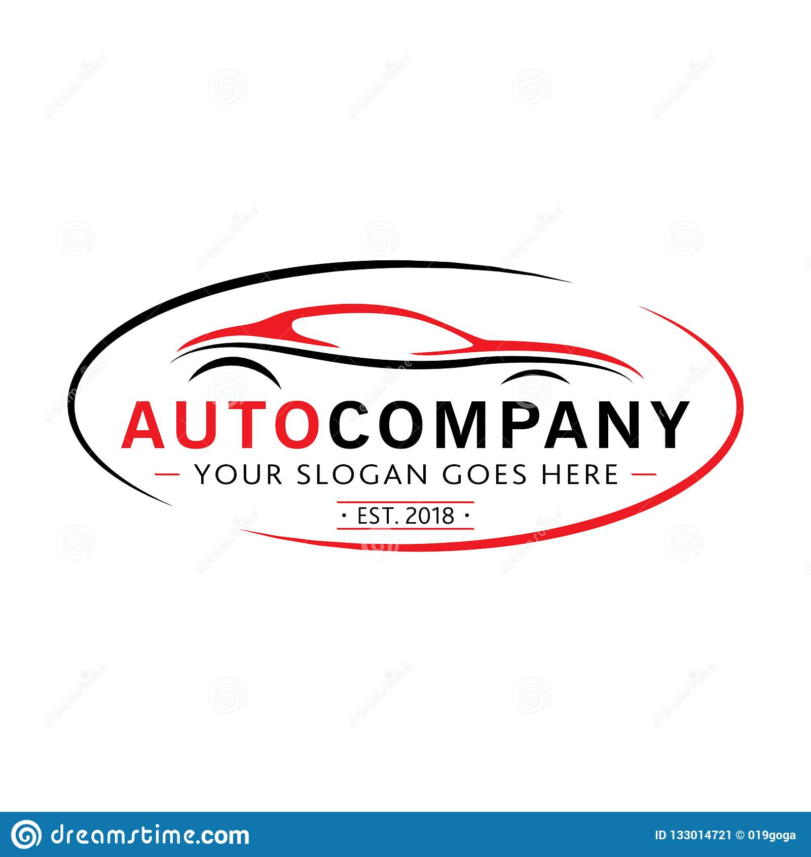Modern Auto Company Logo Design Vector And Illustration Stock Vector Illustration Of Concept Performance 133014721