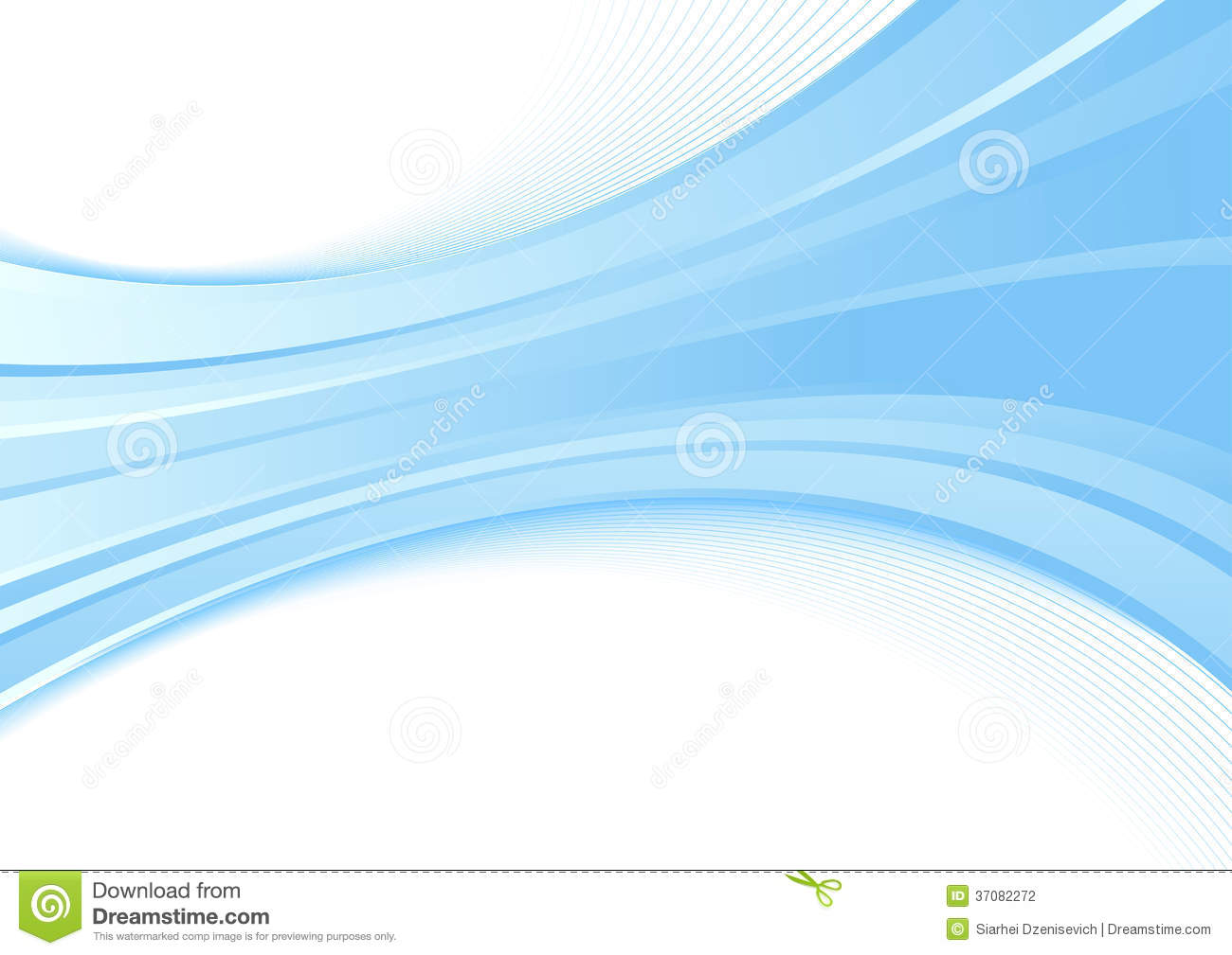 Modern Background With A Blue Wave - Certificate O Stock ...