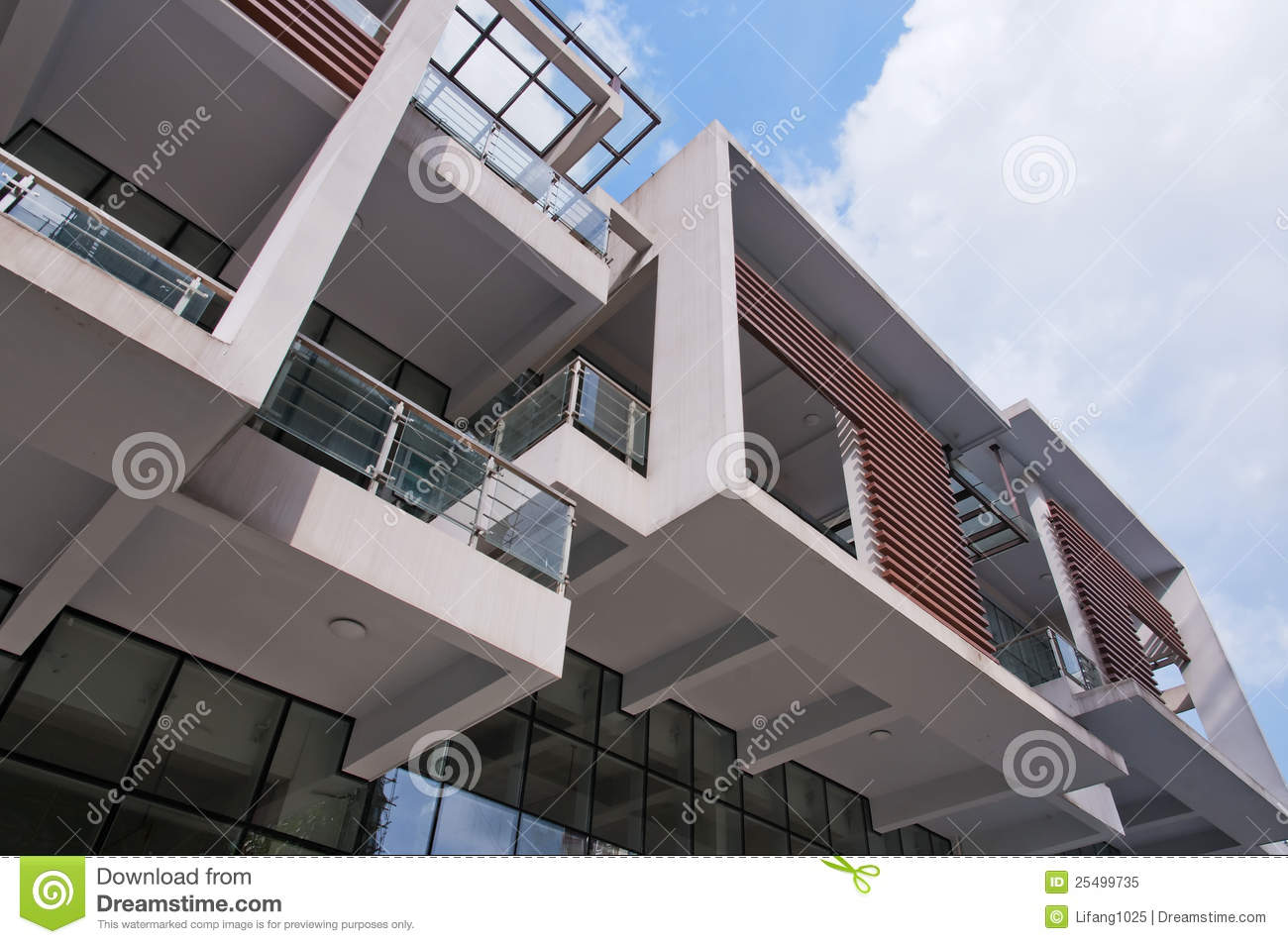 Modern balcony royalty free stock photo image 25499735 for Balcony modern