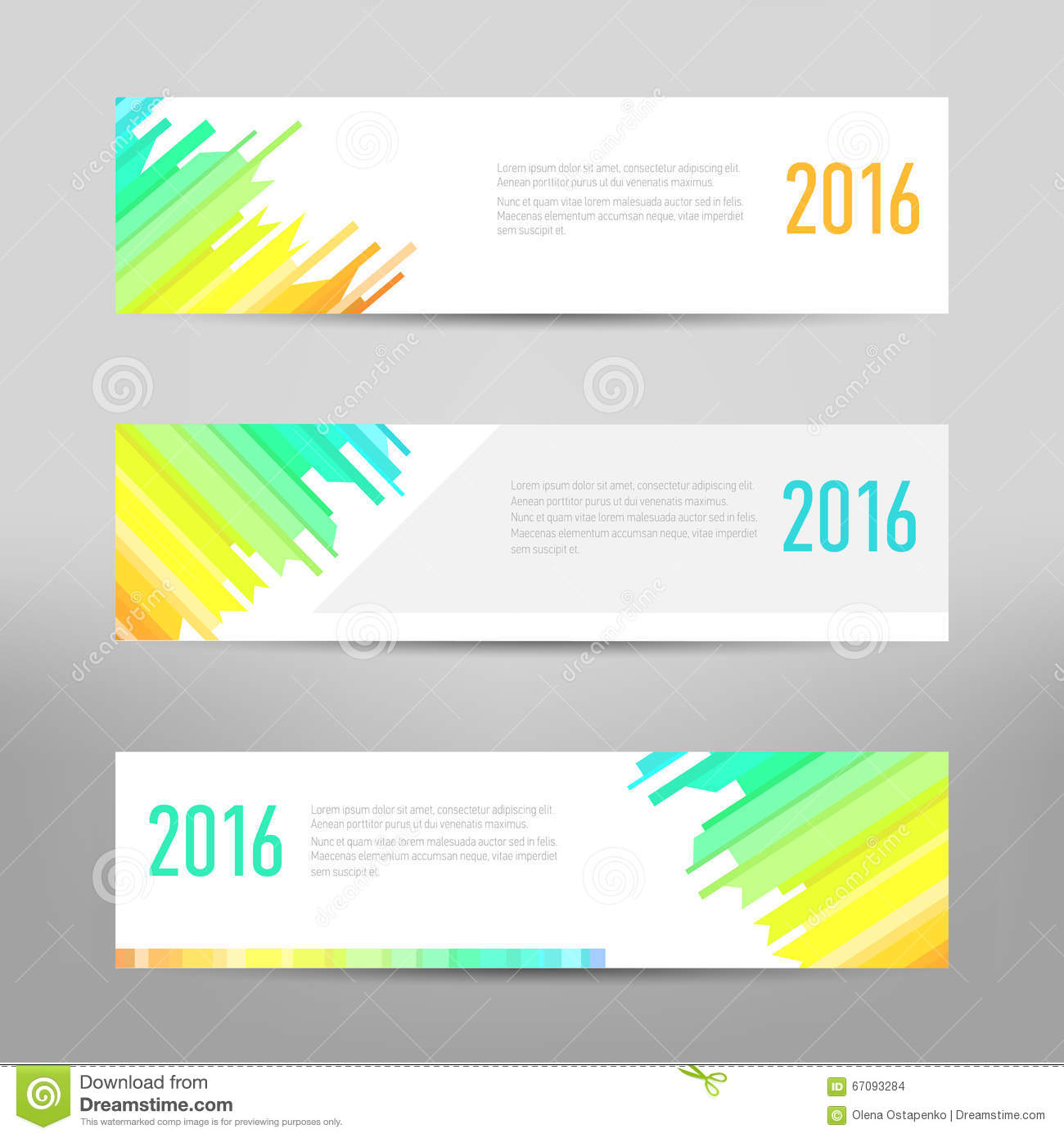 Modern banner business banner flyer design vector layout modern banner business banner flyer design vector layout template design colored abstract banners template pronofoot35fo Choice Image