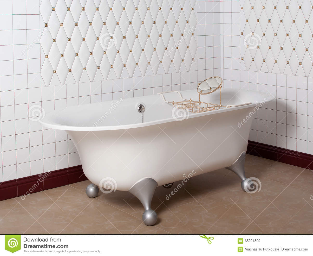Modern bathroom in tile royalty free stock image - Piastrelle bagno stock ...