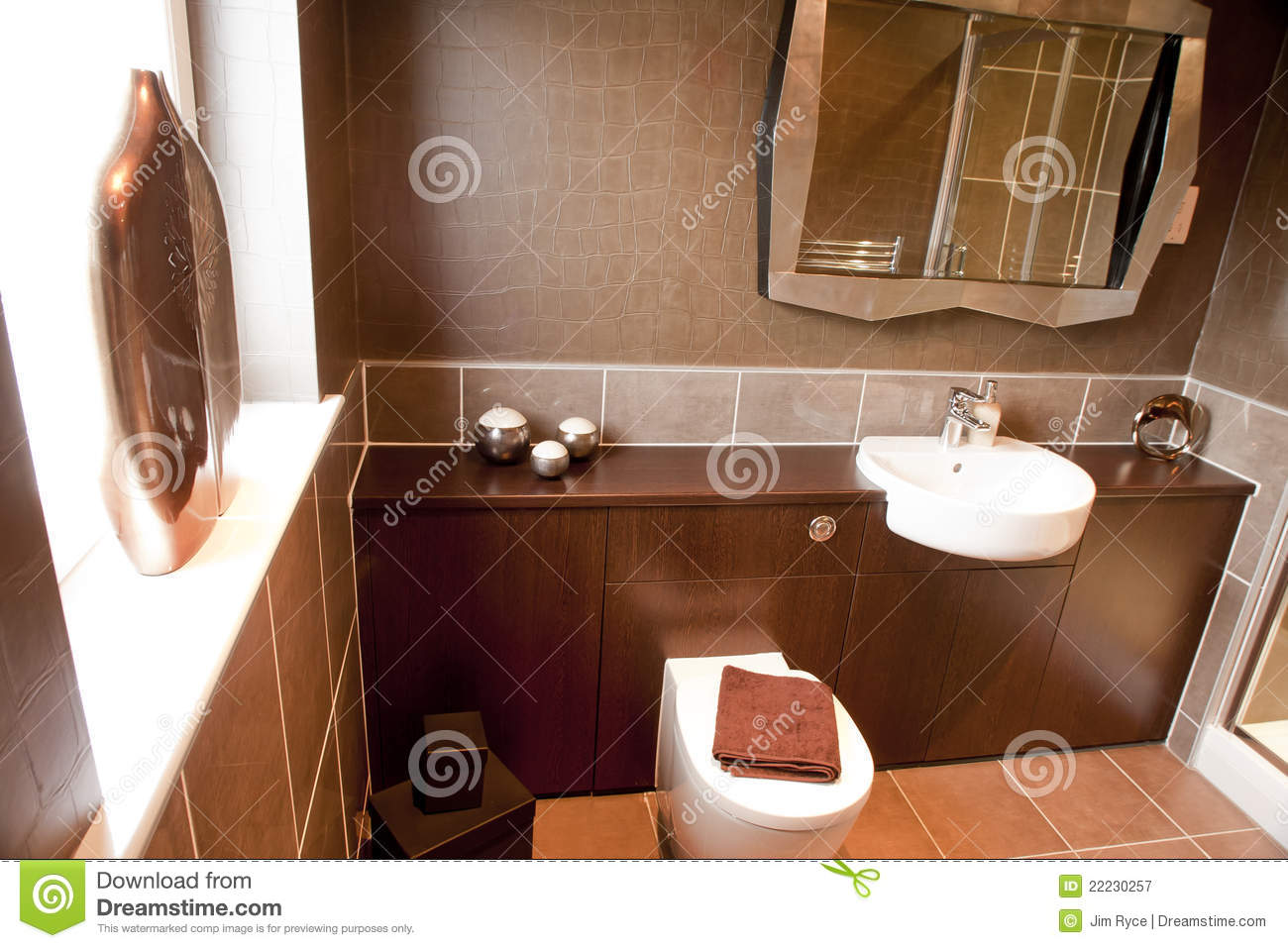 Modern Bathroom Interior Royalty Free Stock Photography Image 22230257