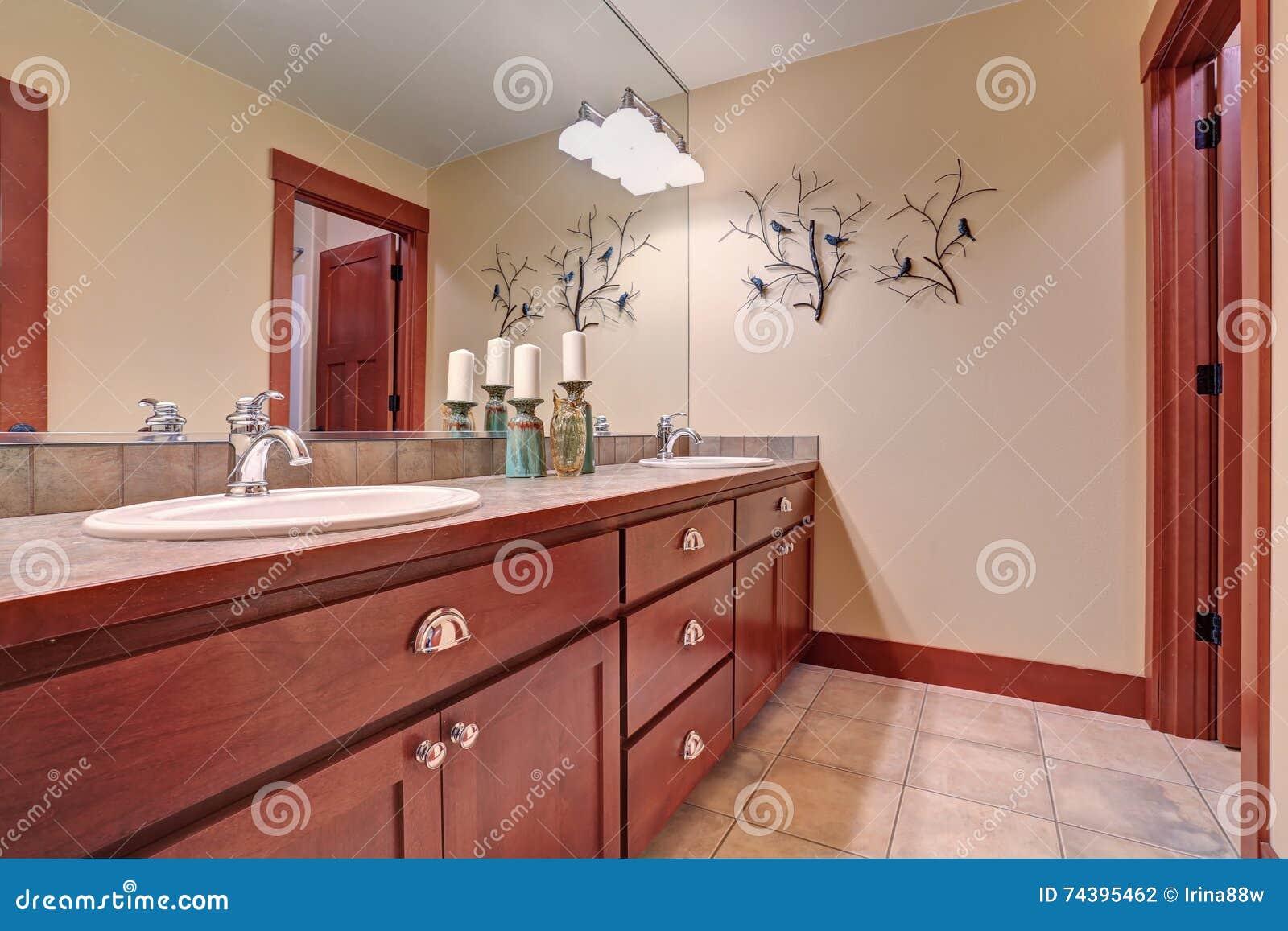 Bathroom Cabinets Cherrywood