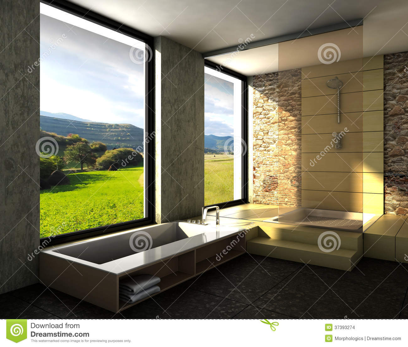 View Specifications Details Of Modern: Modern Bathroom Stock Images