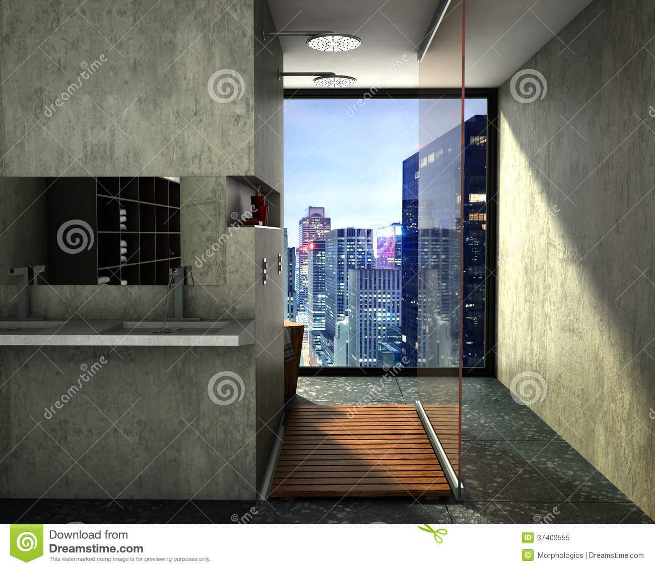 Modern bathroom royalty free stock photo image 37403555 - Interior design bathroom colors ...