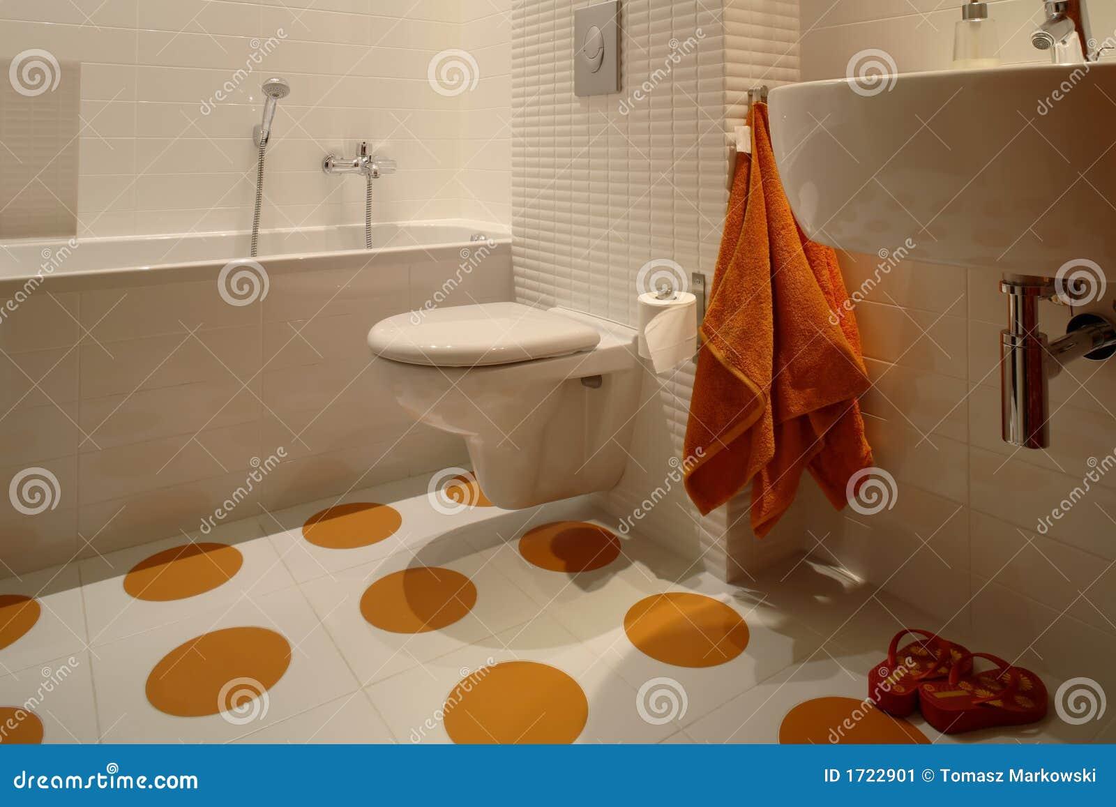 Modern Bathroom For Kids Stock Image Image Of Circle