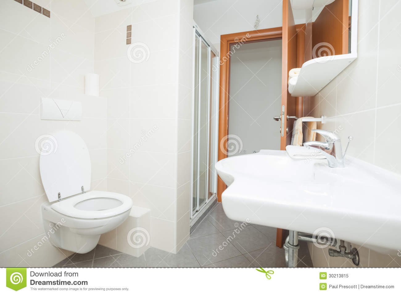 Modern Bathroom Royalty Free Stock Photo Image 30213815