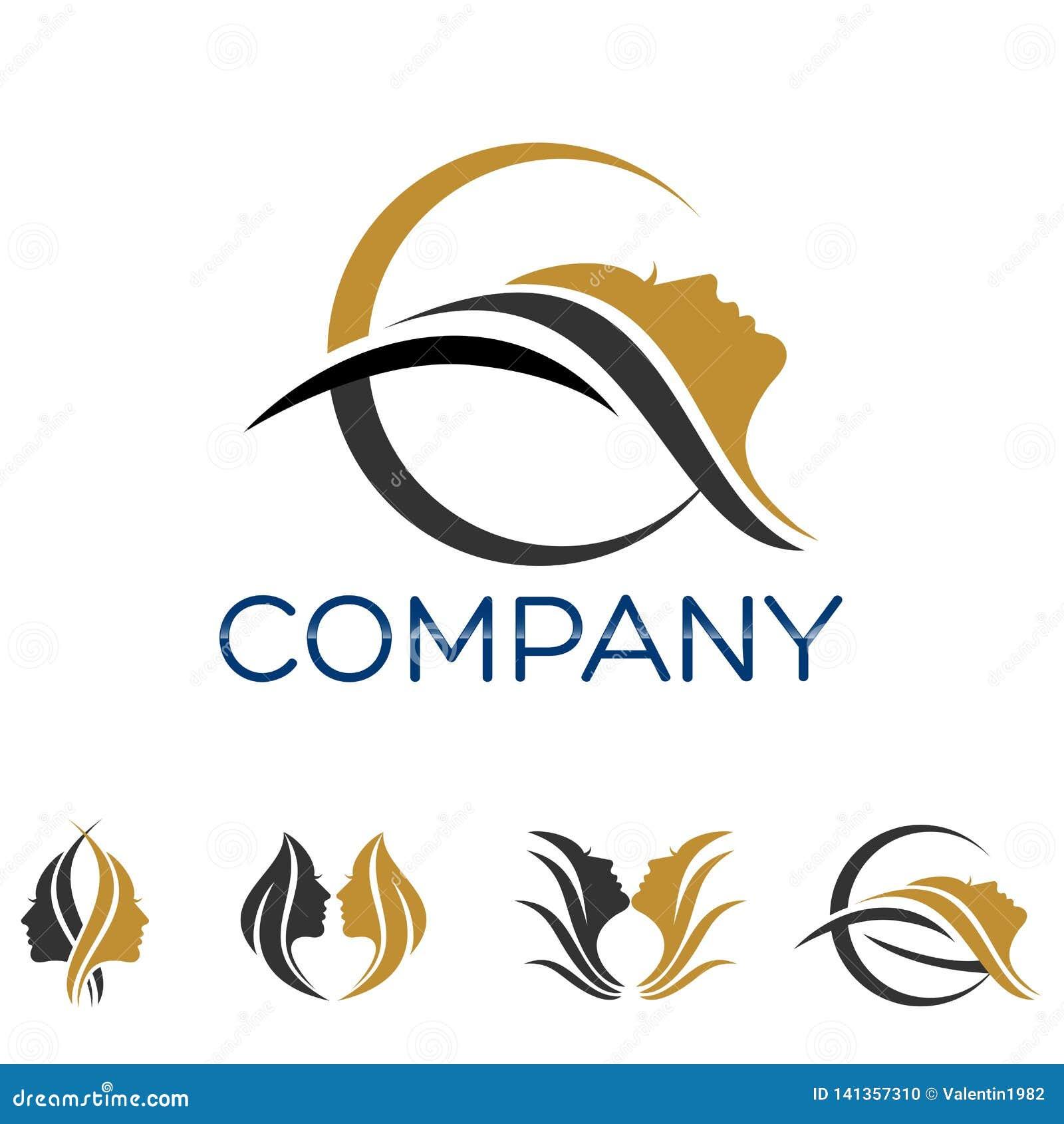 Modern Beauty Logo Vector Illustration Stock Vector Illustration Of Hill Company 141357310