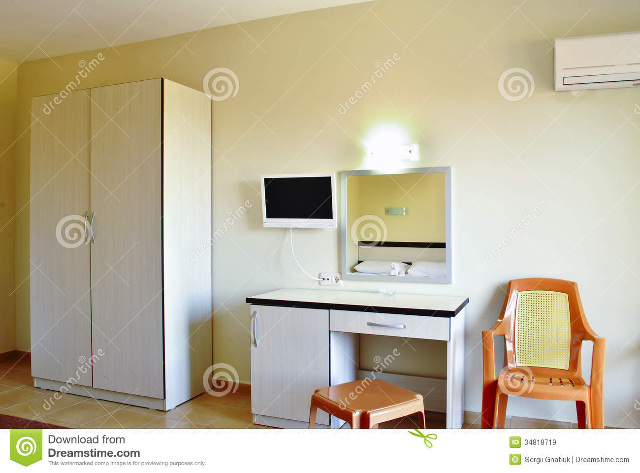 Modern Bedroom Furniture Royalty Free Stock Images Image