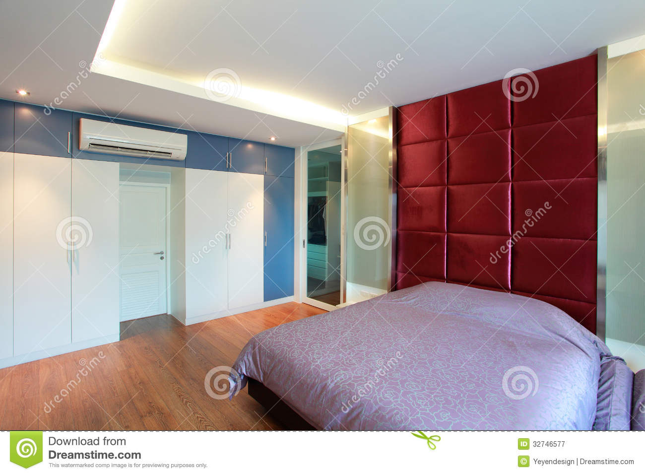 Modern Bedroom Royalty Free Stock Photography Image