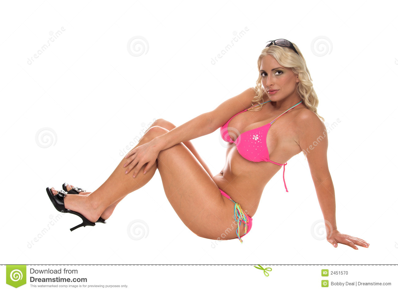 Modern Bikini Pinup Stock Photo Image Of Classic Smile