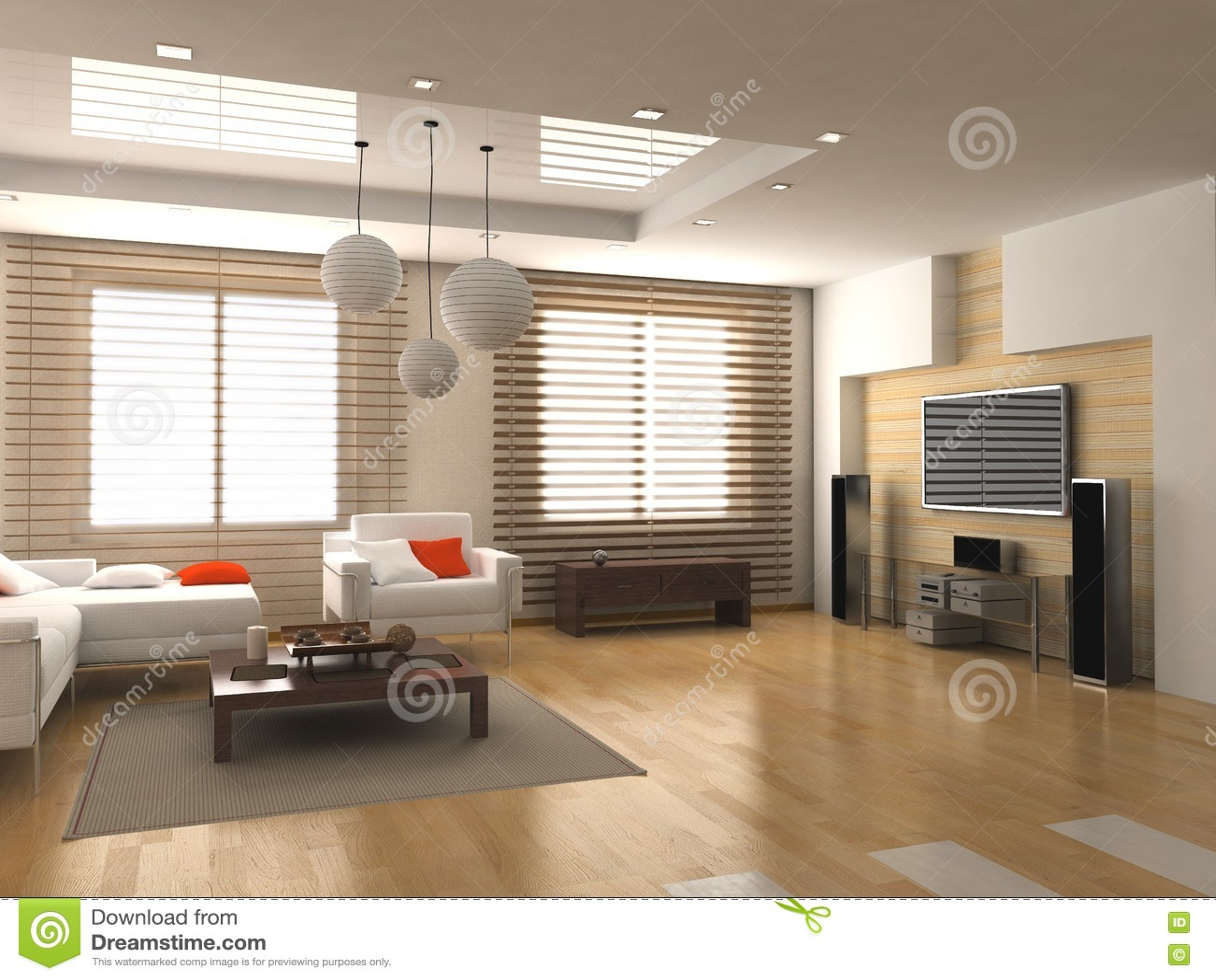 Modern binnenland royalty vrije stock afbeelding beeld for Innenraum designer programm