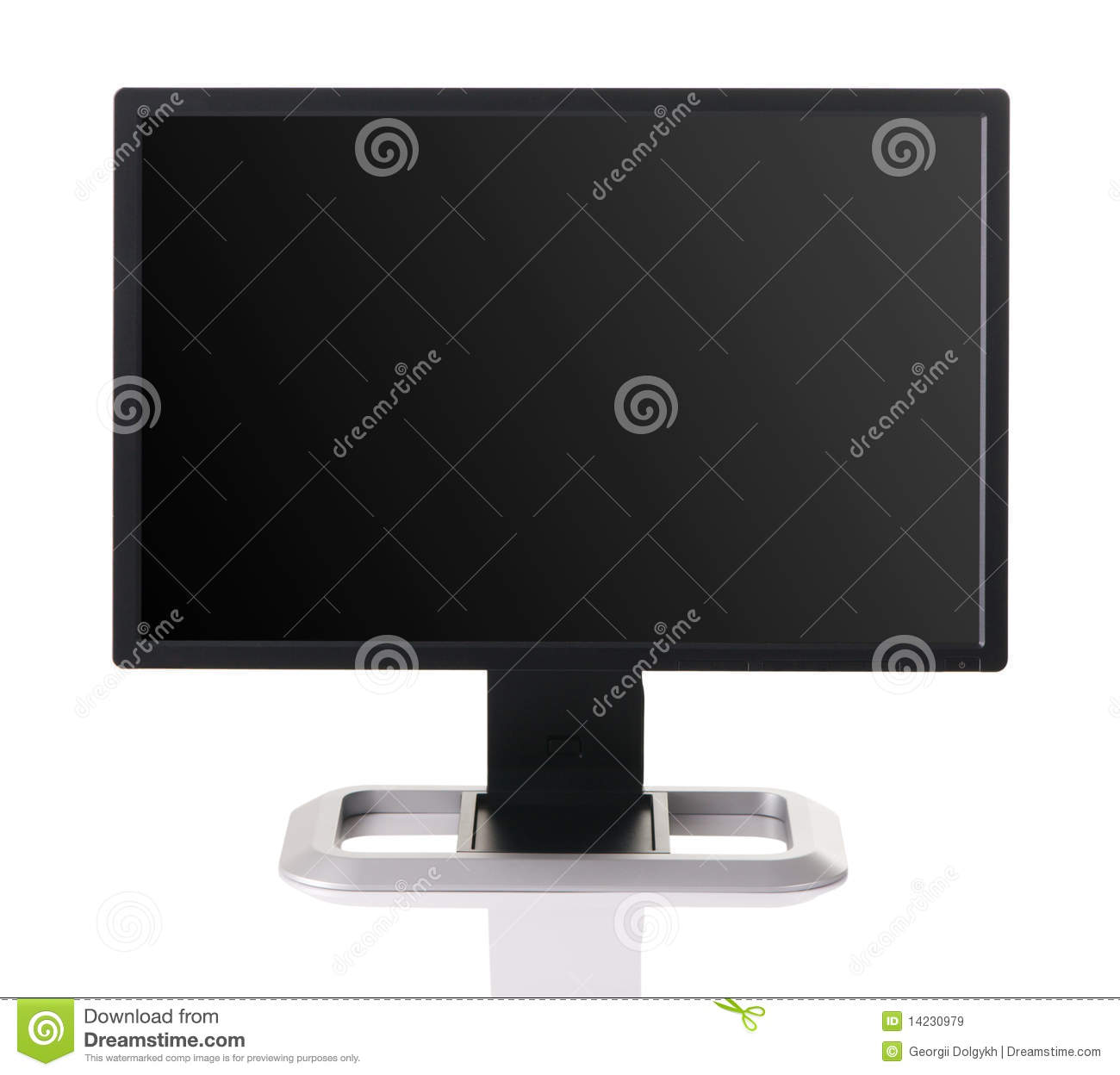 how to get white screen on monitor