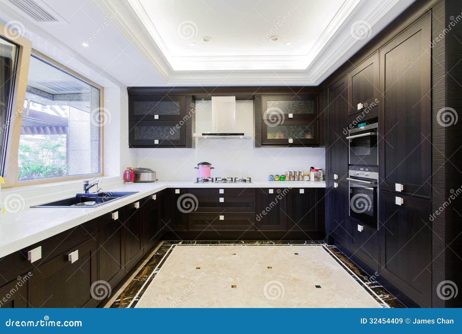 Big Modern Kitchen Royalty Free Stock Images Image 32454409