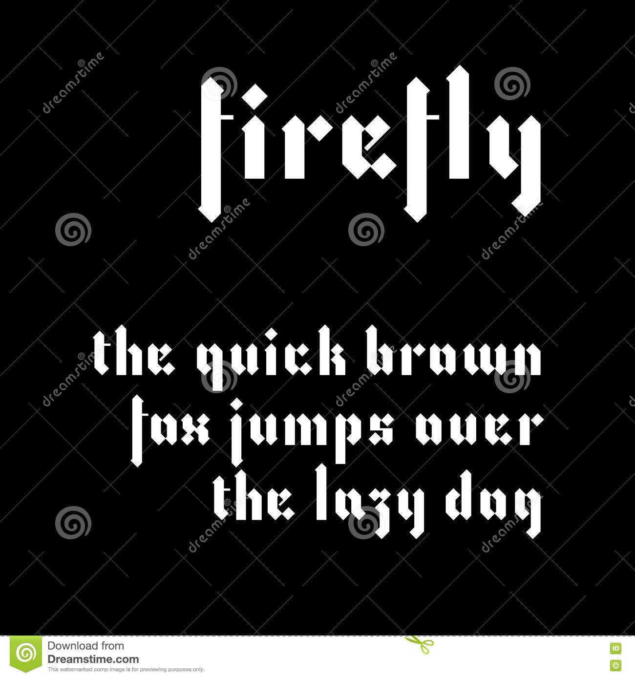Firefly hand drawn font free download.
