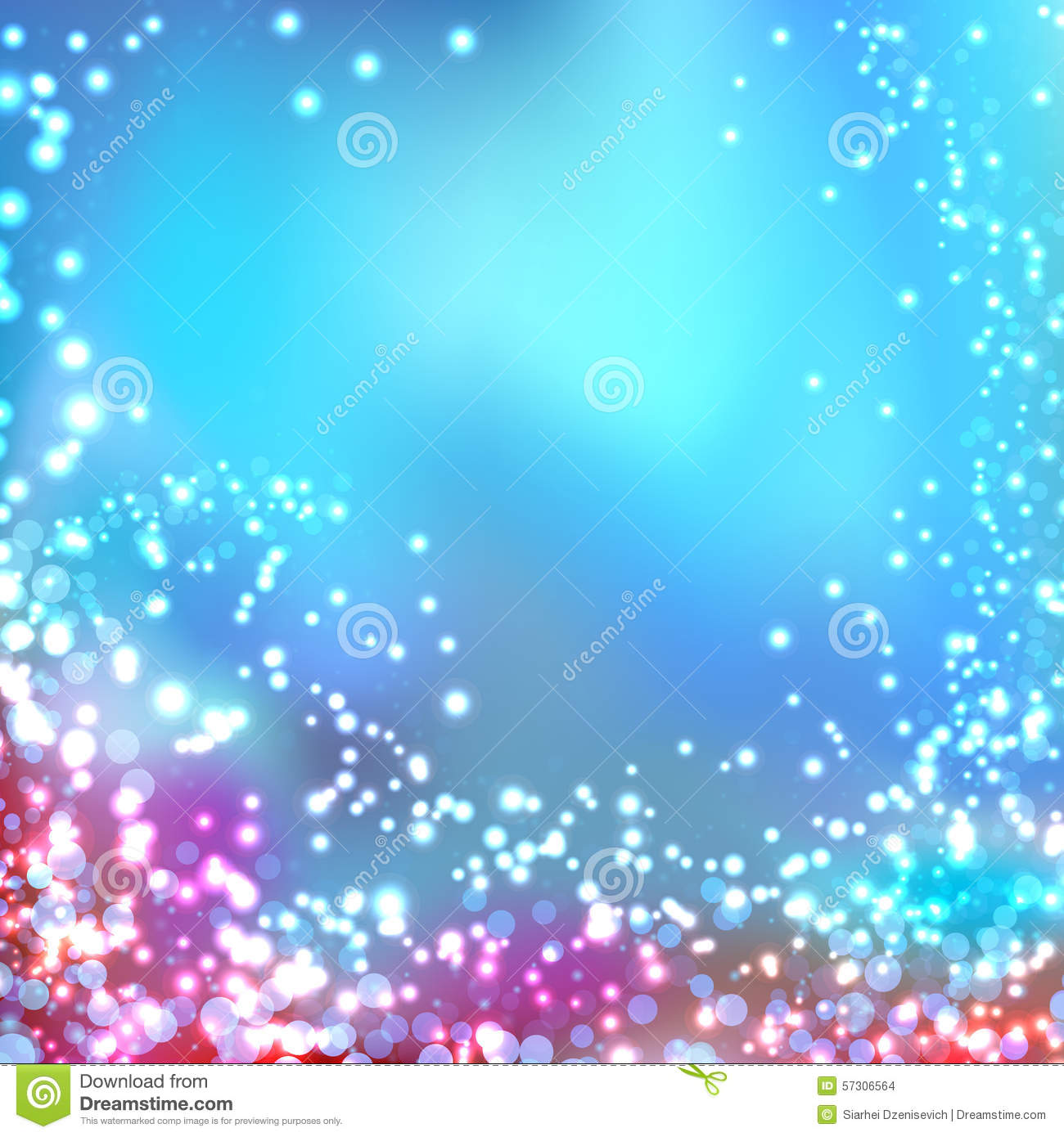 Modern Blurred Abstract Glittering Christmas Background Stock Vector ...