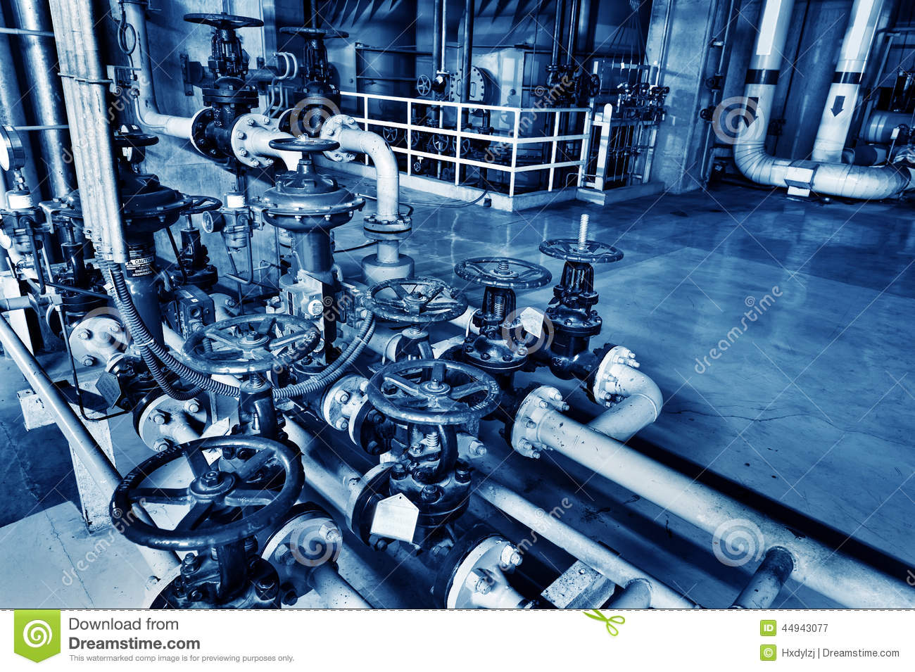 Modern Boiler Room Stock Image Image Of Heater Machine