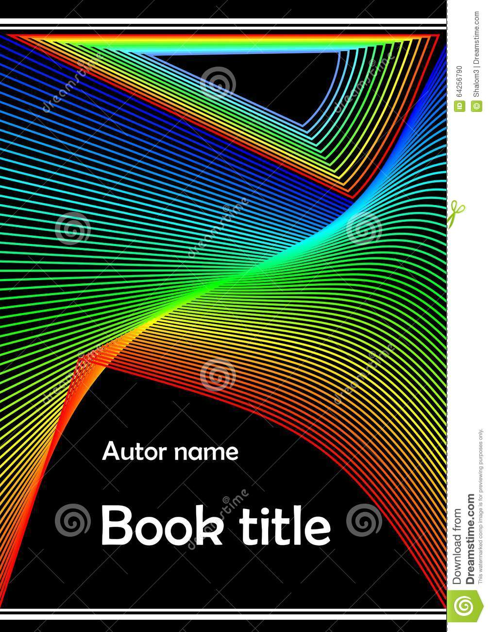 Modern Book Cover Posters ~ Modern book cover poster bill flyer paperback
