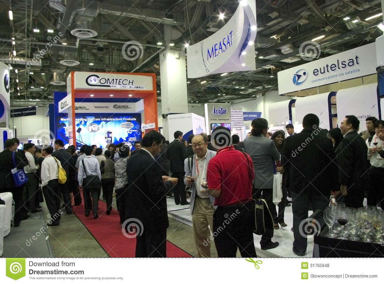 Modern Exhibition Booth Design : Modern booth design editorial stock photo image of