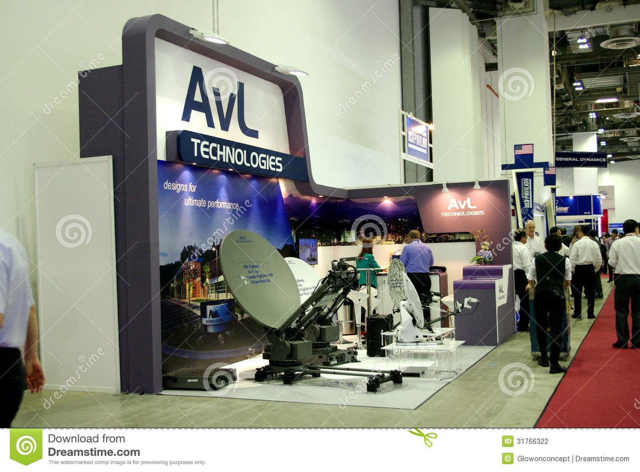 Modern Exhibition Booth Design : Modern booth design editorial photography image