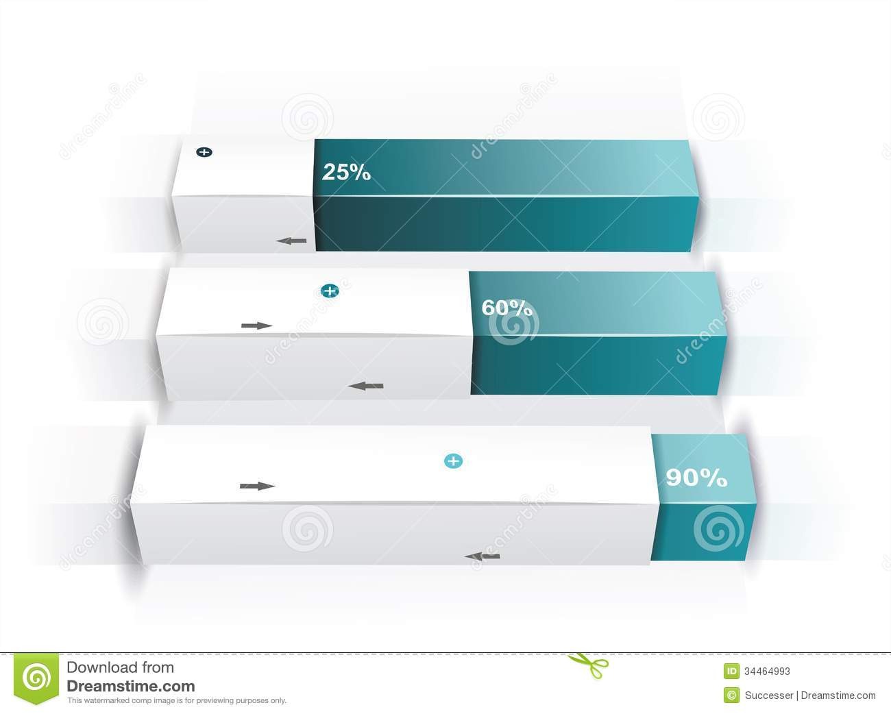 Modern Box Design Minimal Style Stock Photos Image 34464993