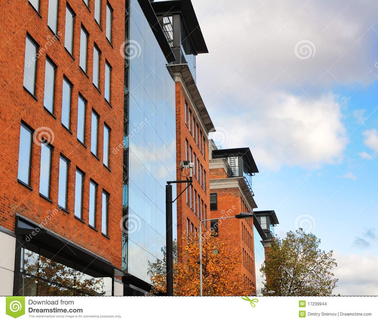 Modern Brick Building Stock Photo Image Of Tall Frame