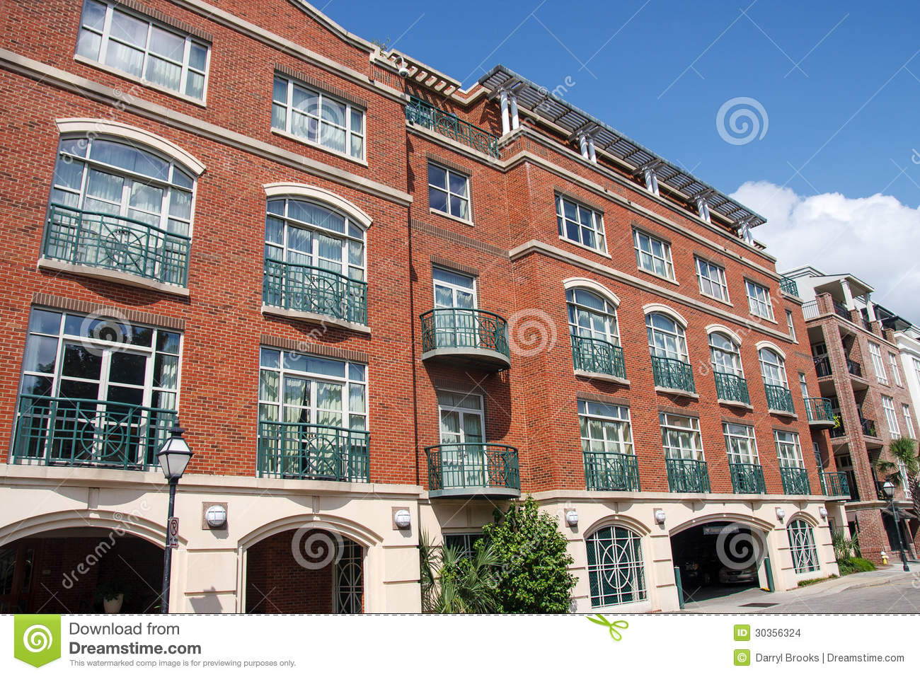 Modern Brick Lofts In Classic Style Stock Photo Image 30356324