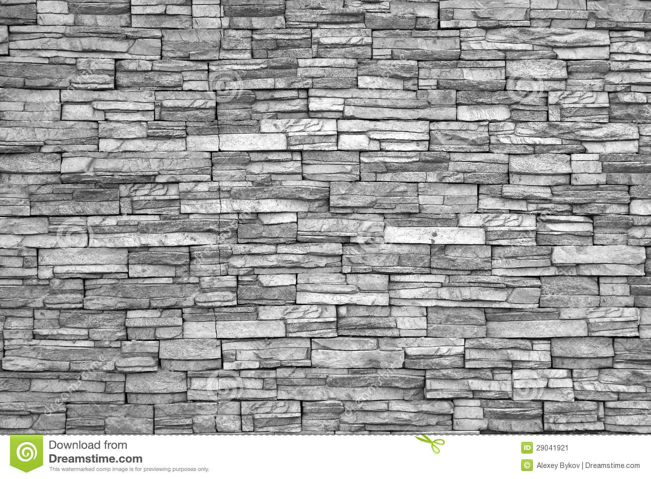 Brick Vector Picture Brick Veneers: Modern Brick Wall (black And White Photo).Brick Wall As
