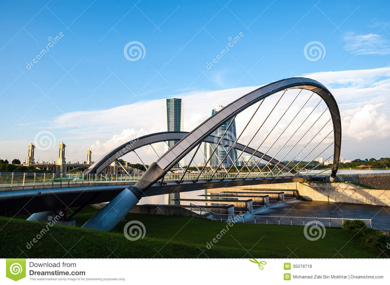 Modern Bridge Royalty Free Stock Photos - Image: 35079718