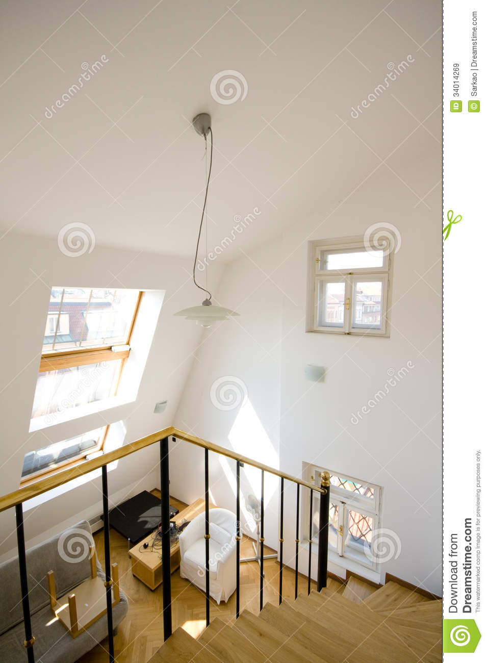Modern Bright Interior Royalty Free Stock Images Image