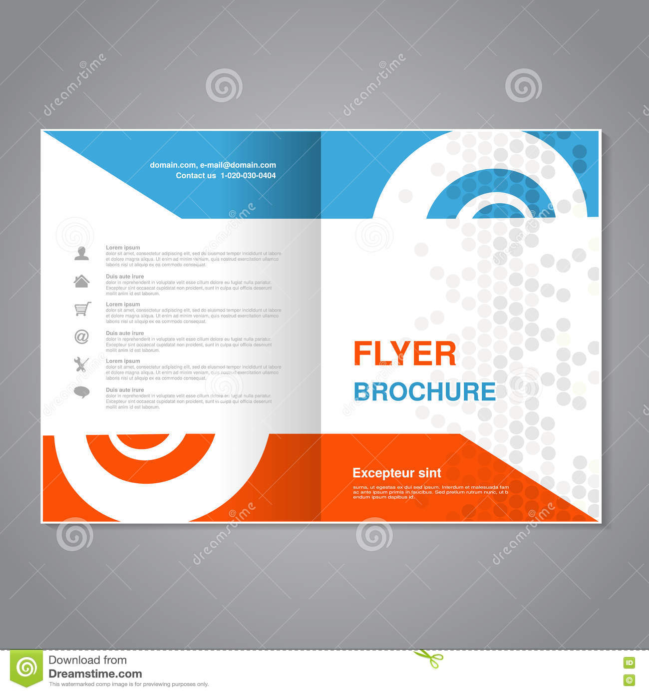 Simple Flyer Layout Antaexpocoachingco - Basic brochure template