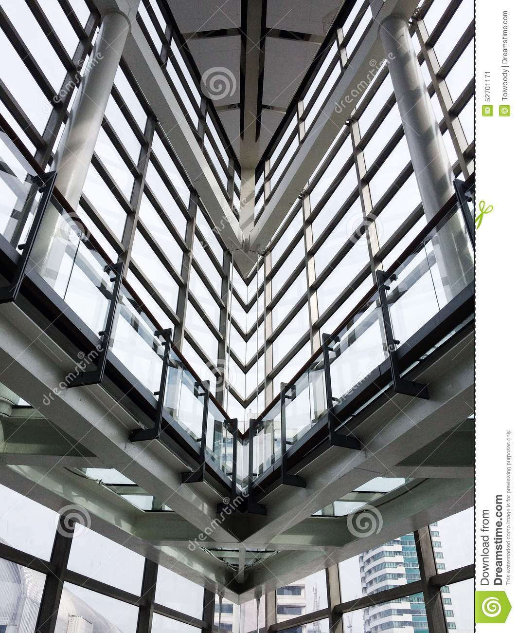 modern build building office interior window shadow metal blue white arch architect architecture sky cement concrete build a office