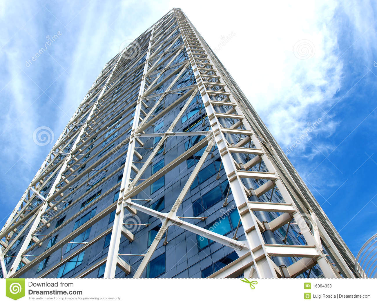 Modern building royalty free stock photos image 16064338 - Steel framing espana ...
